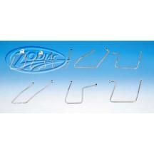 Zip-Off laukkuraudat Softail - Zodiac