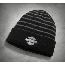 Striped 2-in-1 Knit Hat - Harley-Davidson