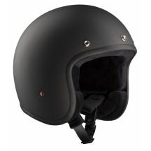 ECE-Jet helmet Matt Black - Bandit Helmets