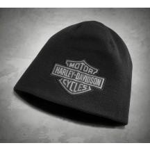 Black Rewersible Beanie - Harley-Davidson