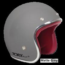 Matt Gray Seventies Style Helmet - Torx Wyatt