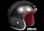 Black Flake Seventies Style Helmet - Torx Wyatt