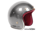 Antracite Flake Seventies Style Helmet - Torx Wyatt